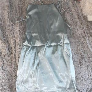 Baby Blue mini dress